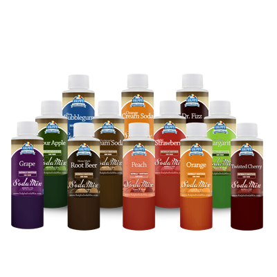 Ralphs Sodastream Sodamix 12 Sample Variety Pack
