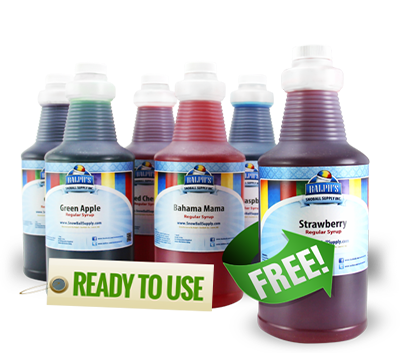 Buy 5 Quarts of Ready To Use Flavors and Get 1 Free