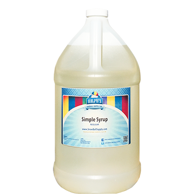Simple Syrup  Regular - Gallon