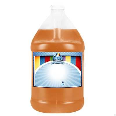 Orange  Sugar Free Syrup - Gallon