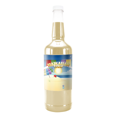 Buttercream Hawaiian Syrup - 32 Ounces