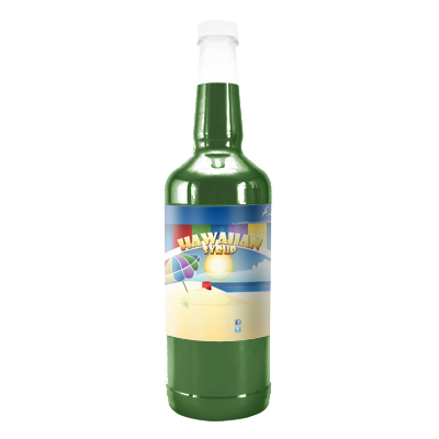Popeye  Hawaiian Syrup - Quart