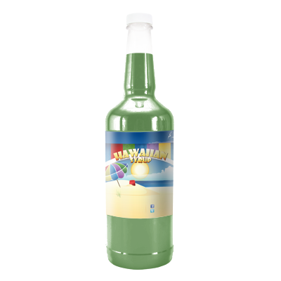 Green Apple  Hawaiian Syrup - Quart