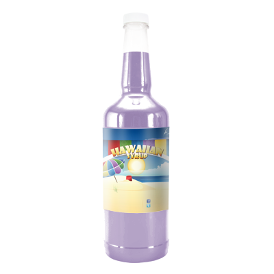 King Cake  Hawaiian Syrup - Quart