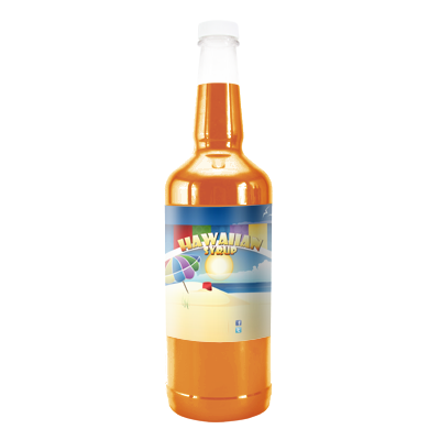 Bahama Mama Hawaiian Syrup - 32 Ounces