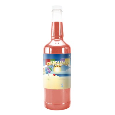 Fuzzy Navel  Hawaiian Syrup - Quart