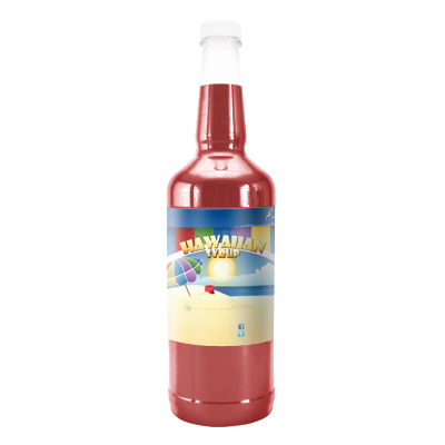 Strawberry  Hawaiian Syrup - Quart