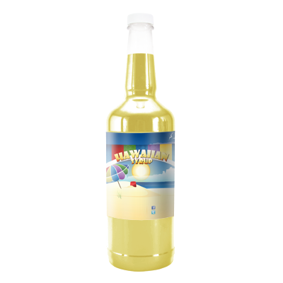 Banana Cheesecake Hawaiian Syrup - 32 Ounces