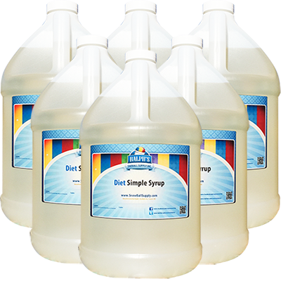 Buy 5 Gallons of Diet Simple Syrup Get 1 Gallon Free!
