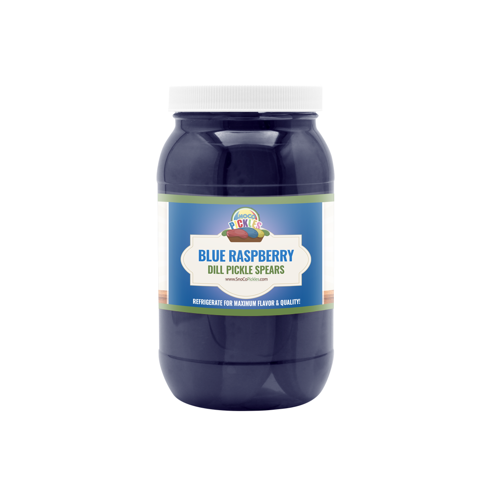Blue Raspberry SnoCo Pickles (16oz)
