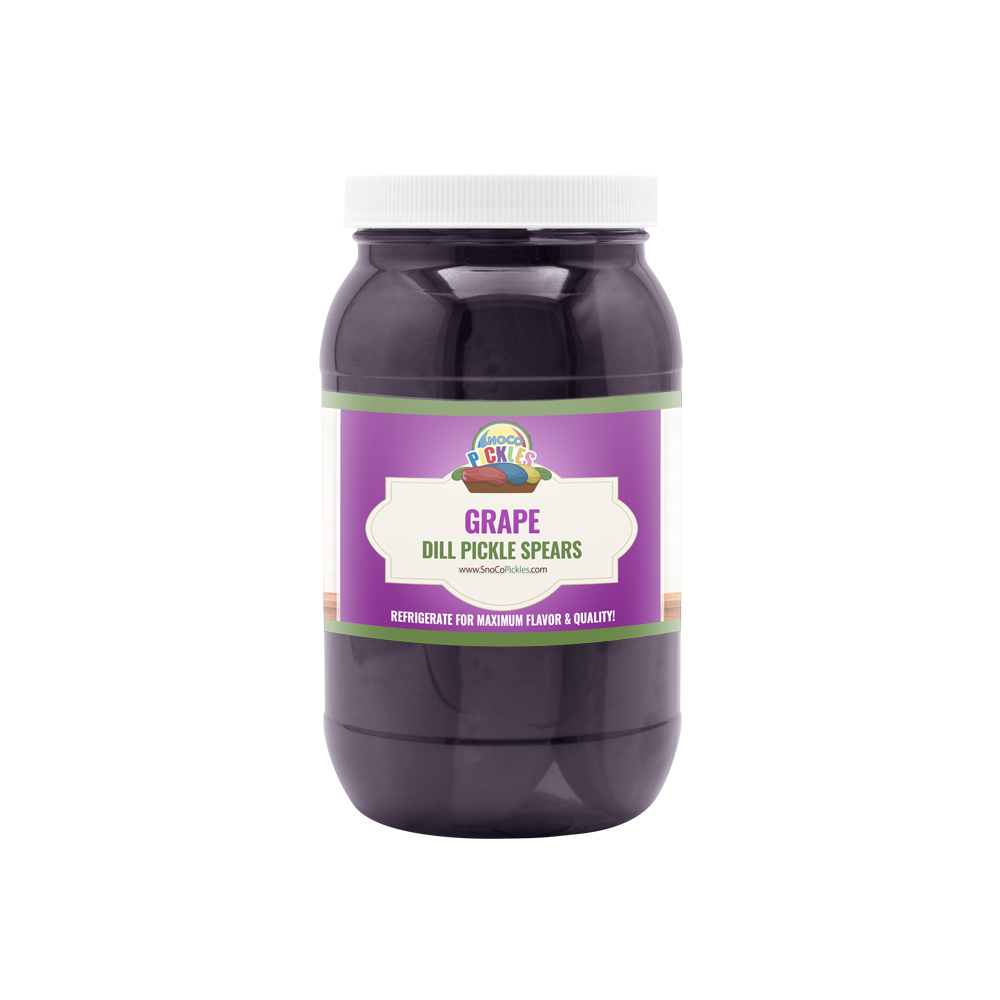 Grape SnoCo Pickles (16oz)