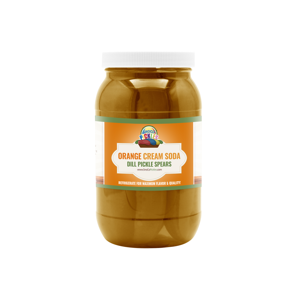 Orange Cream Soda SnoCo Pickles (16oz)