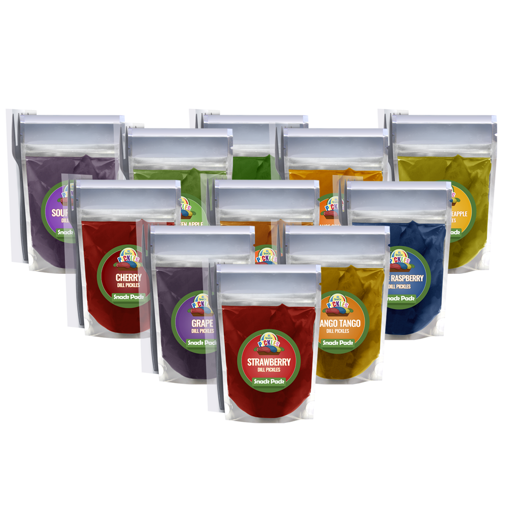 Try All SnoCo Pickle Flavors - Variety 12 Pack