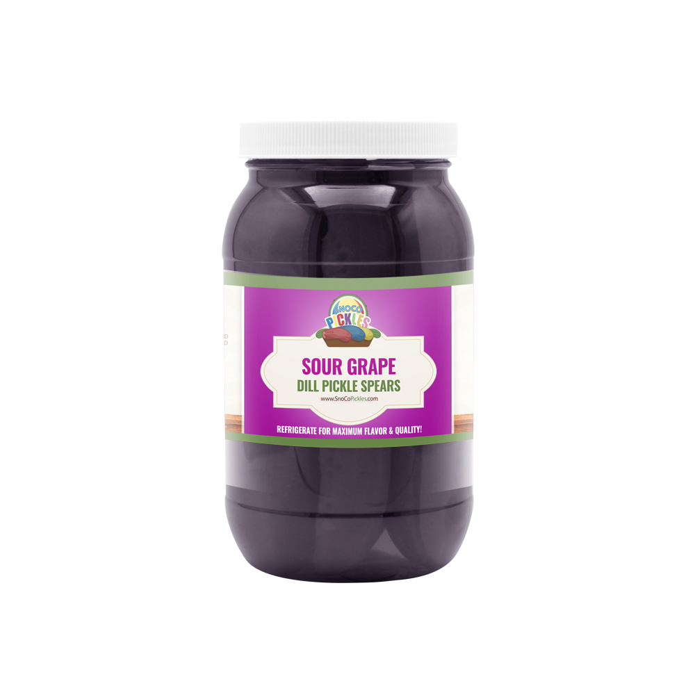 Sour Grape SnoCo Pickles (16oz)