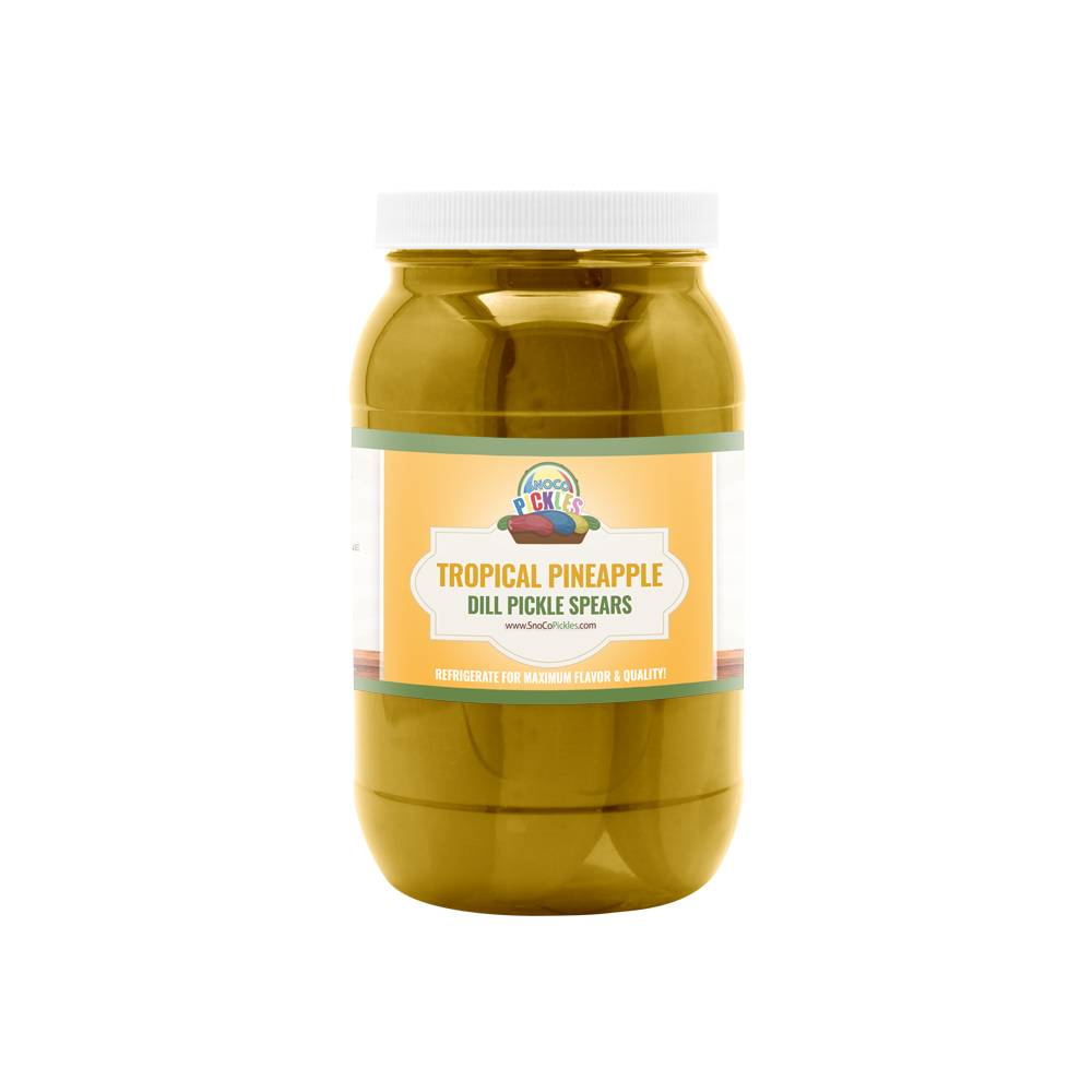 Tropical Pineapple SnoCo Pickles (16oz)