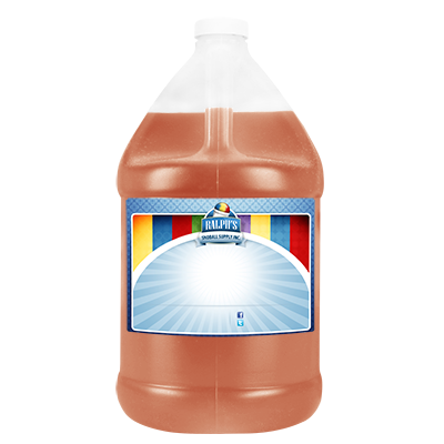 Peach  Syrup - Gallon