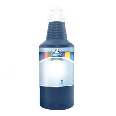 Sour Blue Bubblegum Sugar Free Syrup - Quart