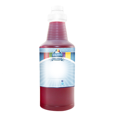 Red Cotton Candy  Sugar Free Syrup - Quart